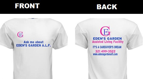Eden's T-shirt
